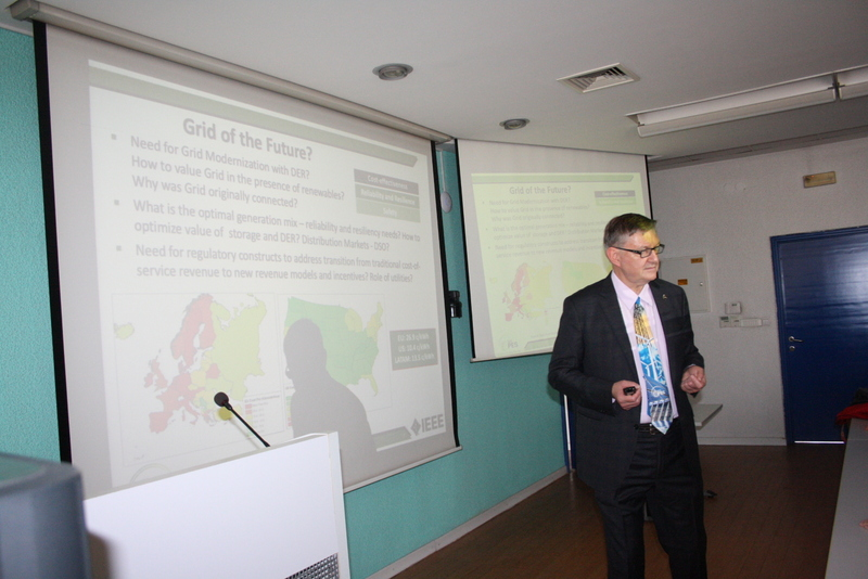Dr. Damir Novosel held a lecture at the Faculty of Electrical Engineering (1)