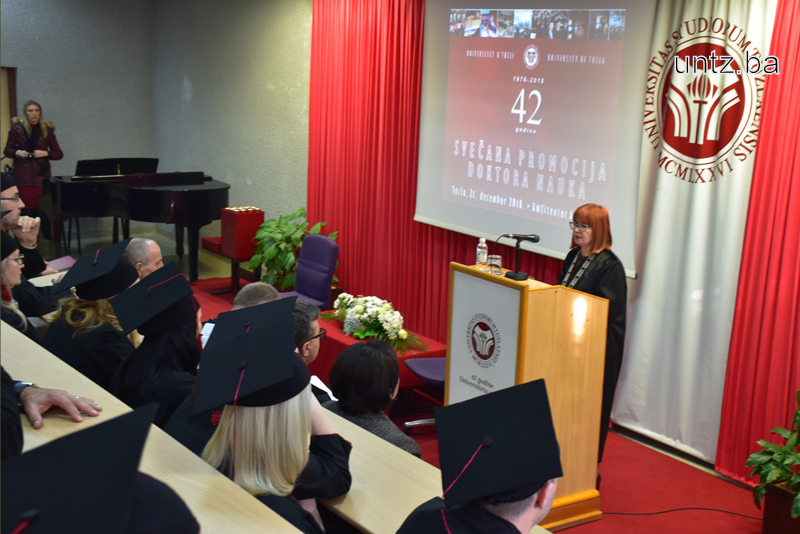 23 DOCTORS OF SCIENCE PROMOTED AT THE UNIVERSITY OF TUZLA (1)