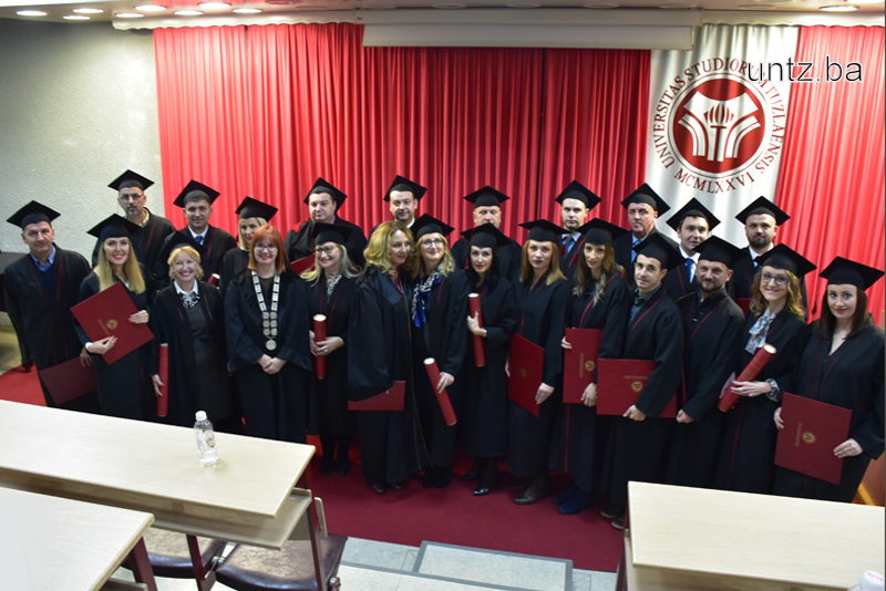 23 DOCTORS OF SCIENCE PROMOTED AT THE UNIVERSITY OF TUZLA