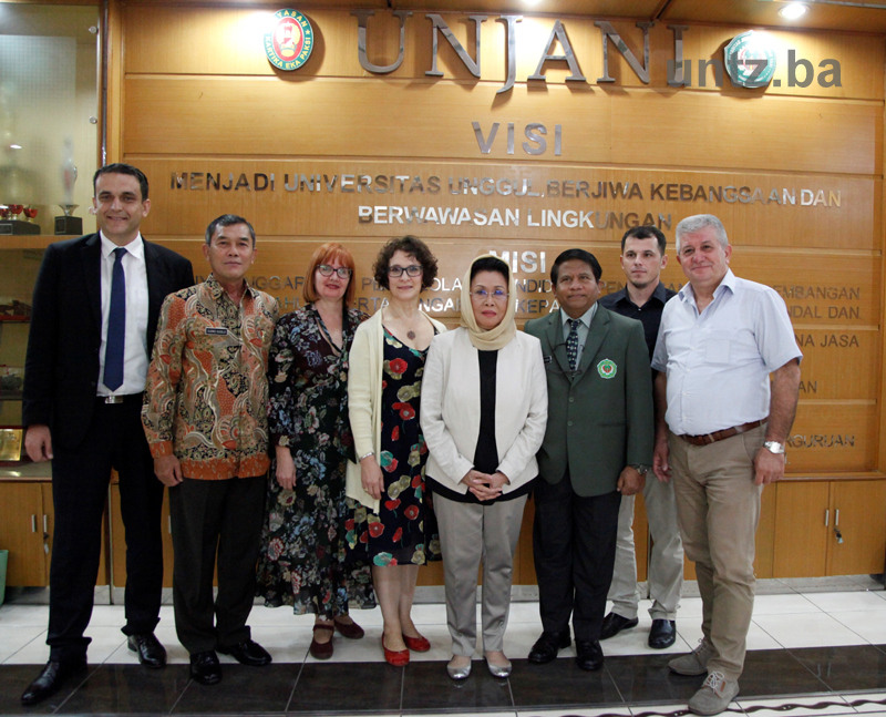 Rector of the University of Tuzla Prof. Dr. Nermina Hadžigrahić visited Universities in Indonesia