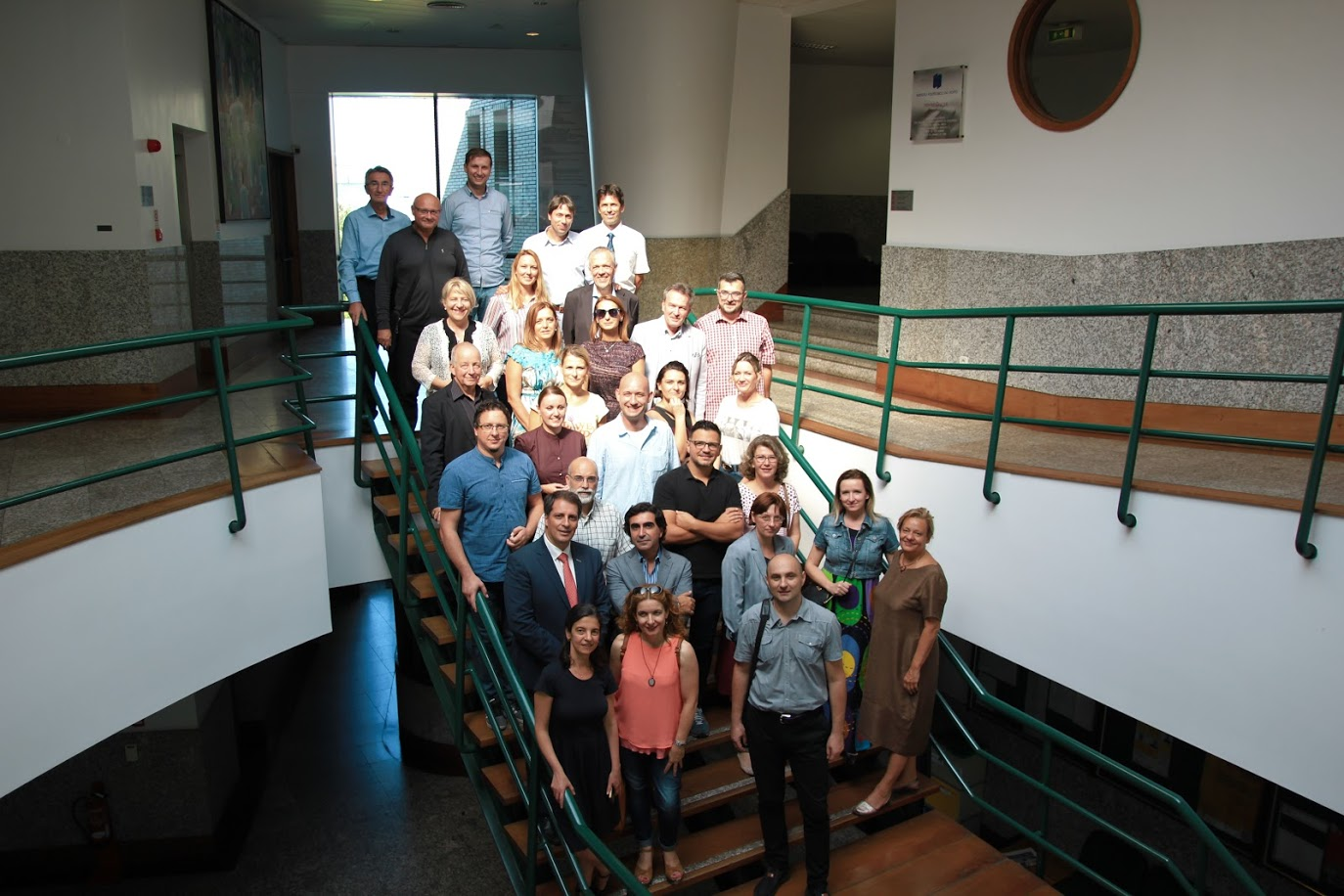 A meeting of the STINT (Erasmus +) project consortium held at Politecnico do Porto University, Portugal